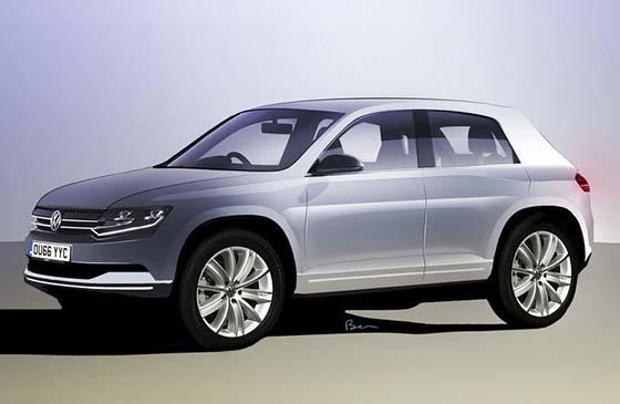 В 2014 году представят кроссовер на основе Volkswagen Polo