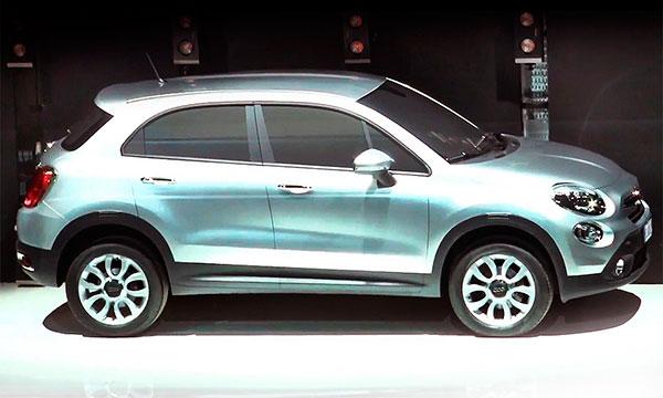 В 2014 году состоится дебют двух кроссоверов Fiat