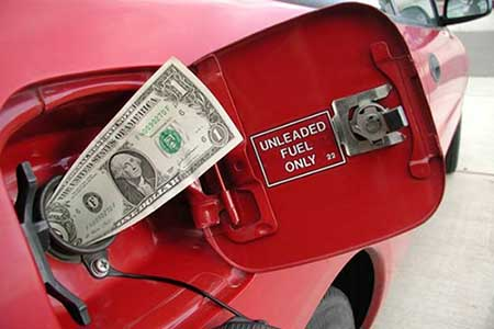 Большой расход бензина