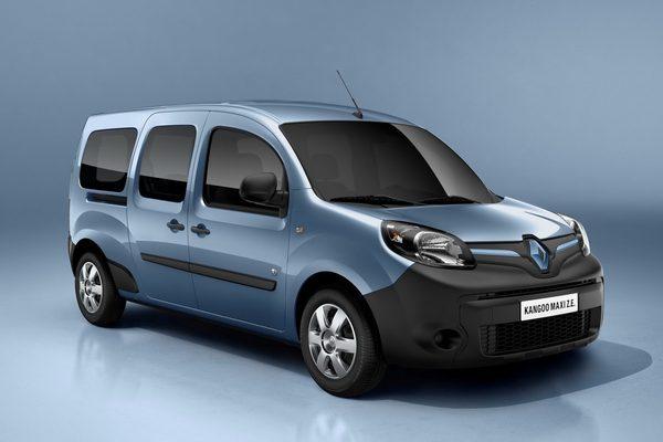 Renault презентовал рестайлинговый Kangoo Van