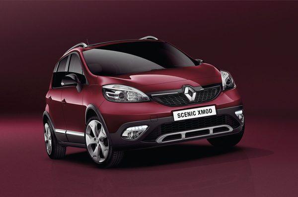 Renault выпустил новое авто Scenic XMOD
