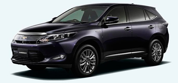 Toyota-Harrier-фото