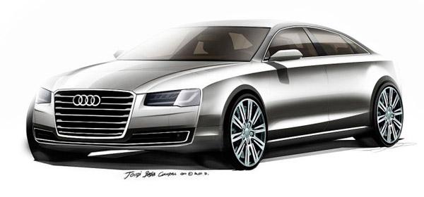 В ближайшем времени дебютирует модернизированая Audi A8
