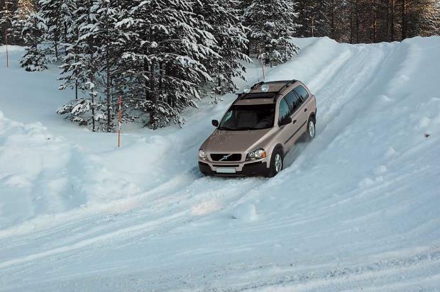 Зима и машина