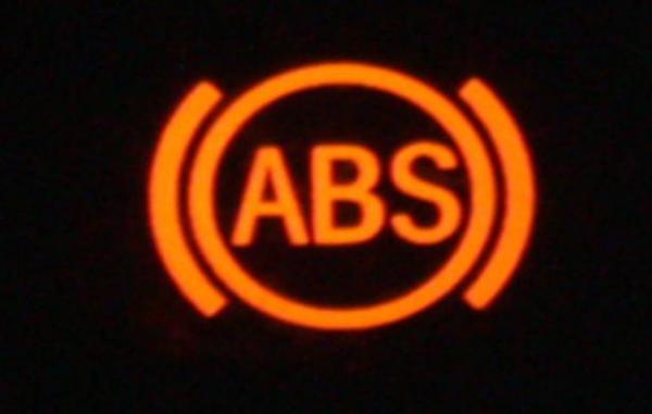 Загорелась лампочка ABS
