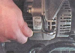 как поменять ремень генератора на приоре