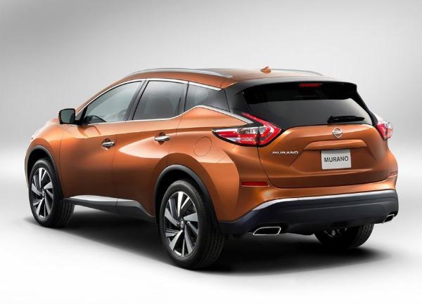 Дизайн нового Nissan Murano