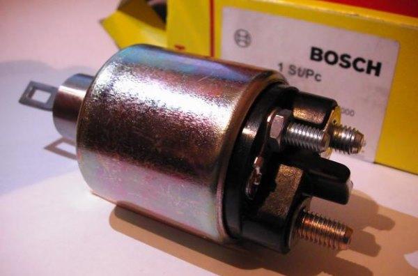 Втягивающее реле стартера – проверка и ремонт