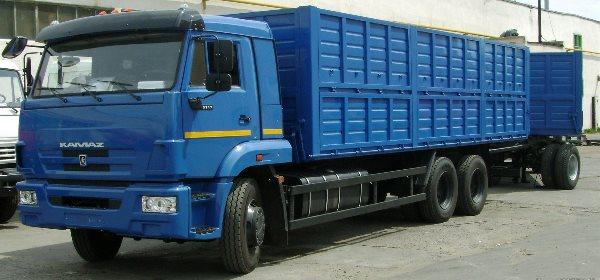 Грузоподъемность отечественных грузовиков КамАЗ