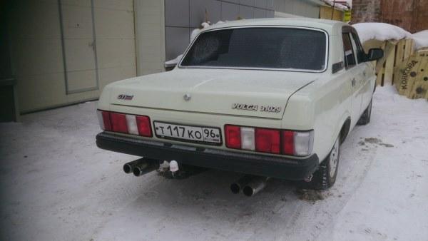 Установка белых поворотников на ГАЗ 31029