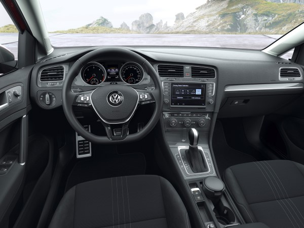 Интерьер Volkswagen Golf Alltrack New