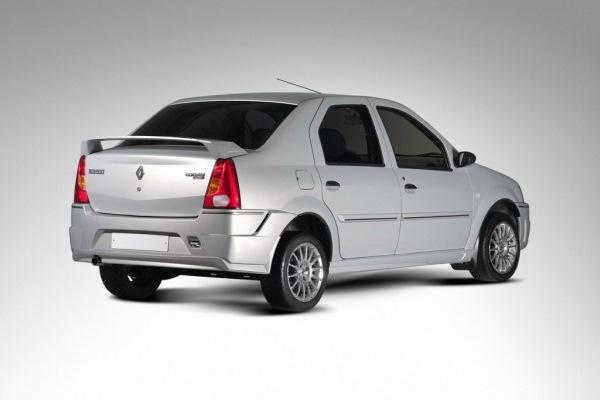 Боди-кит Renault Logan