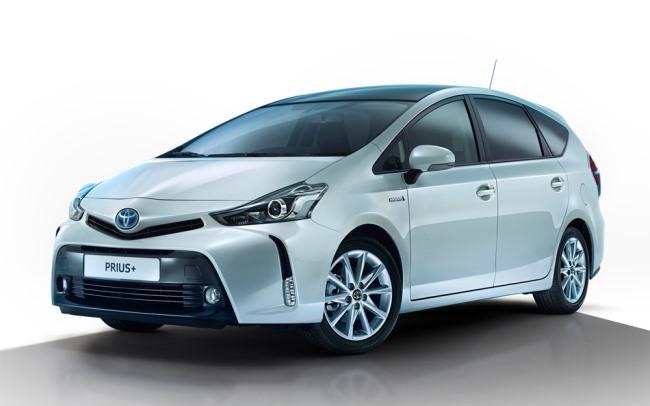 Гибрид Toyota Prius слегка обновился