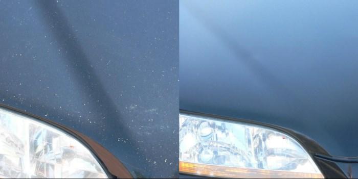 Сколы на капоте – ремонт и защита