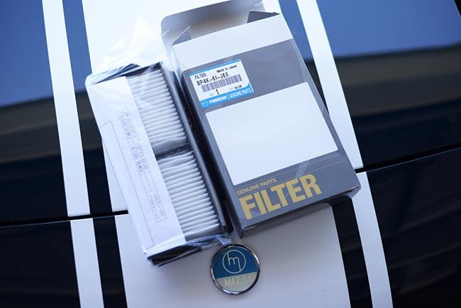 Новый фильтр салона Мазда 3