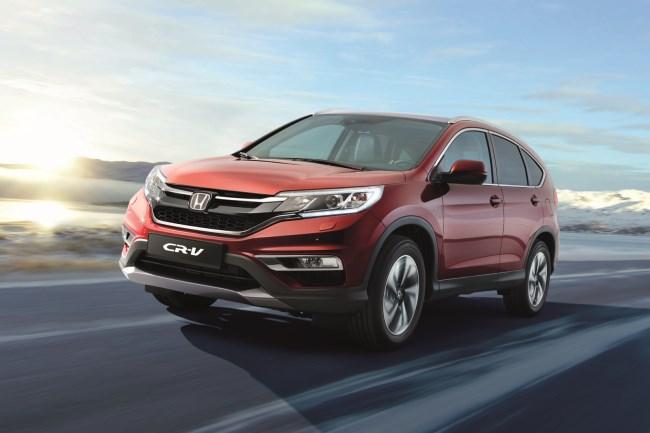 Обновленный Honda CR-V появится у дилеров весной 2015 года