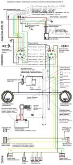 Схема подключения фаркопа (американский вариант)