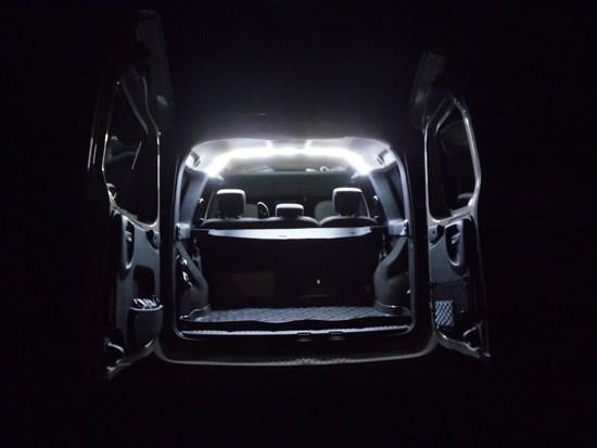 Подсветка грузового отсека