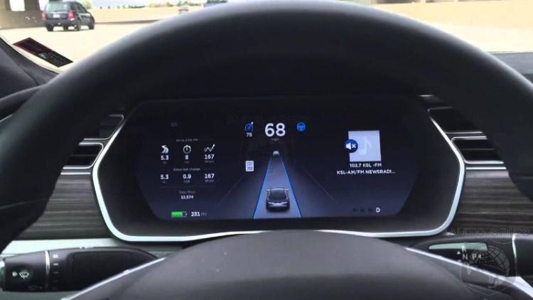 Панель приборов Тесла