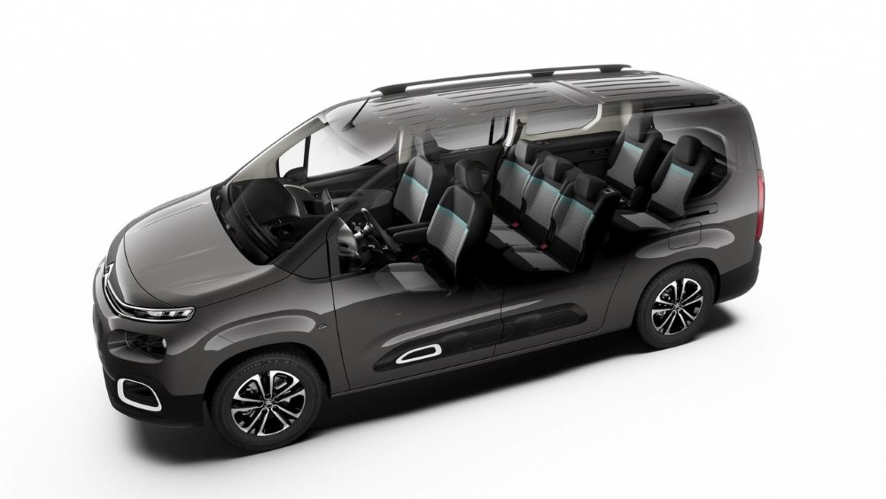 Семиместный вариант Citroen Berlingo